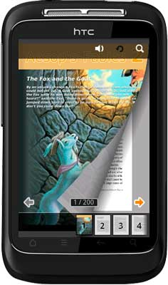 APPMK- Free Android  book App (Aesop's Fable 2) screen shot