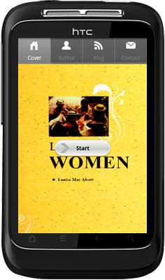 APPMK- Free Android  book App Little-Woman screen shot