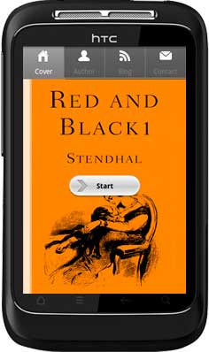 APPMK- Free Android  book App Red and Black 1.0.0