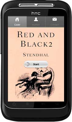 APPMK- Free Android  book App Red and Black 2 1.0.0