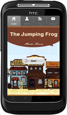 APPMK- Free Android  book App The Jumping Frog screenshot