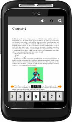 Free book magazine comic or catalog apps for Android - (The Little Prince) affordable Screen Shot
