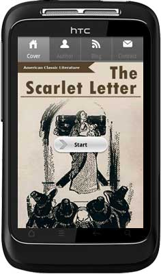 APPMK- Free Android  book App The-Scarlet-Letter screen shot